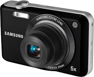 Samsung's SL50 digital camera. Photo provided by Samsung Electronics America Inc. Click for a bigger picture!