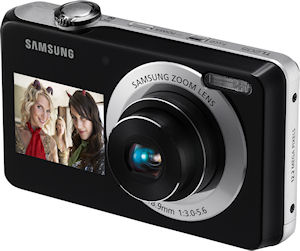 Samsung's TL205 digital camera. Photo provided by Samsung Electronics America Inc. Click for a bigger picture!