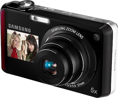 Samsung's TL210 digital camera. Photo provided by Samsung Electronics America Inc. Click for a bigger picture!