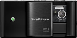 Sony Ericsson's Satio camera phone. Rendering provided by Sony Ericsson Mobile Communications AB. Click for a bigger picture!