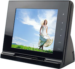 Front view of the ScanViewer multimedia digital picture frame. Photo provided by JOBO AG. Click for a bigger picture!
