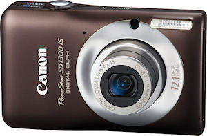 Canon's PowerShot SD1300IS digital camera. Photo provided by Canon. Click for a bigger picture!