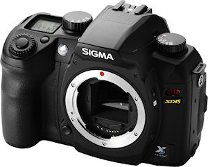 Sigma's SD15 digital SLR. Photo provided by Sigma Corp. Click for a bigger picture!