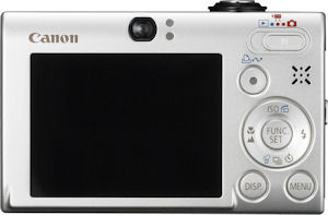 Canon's PowerShot SD770 IS Digital ELPH. Courtesy of Canon, with modifications by Michael R. Tomkins. Click for a bigger picture!