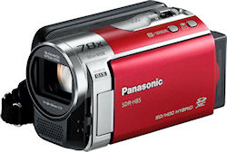 Panasonic's SDR-H85 digital camcorder. Photo provided by Panasonic Consumer Electronics Co. Click for a bigger picture!