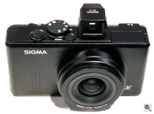 Sigma's DP1 digital camera. Copyright (c) 2007, The Imaging Resource. All rights reserved. Click here for a bigger picture!
