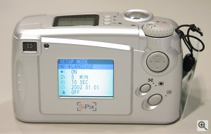 SiPix's SC-2300 Deluxe digital camera. Copyright © 2002, Michael R. Tomkins. All rights reserved. Click for a bigger picture!