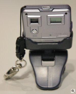 SiPix's StyleCam Blink digital camera. Copyright © 2002, Michael R. Tomkins. All rights reserved. Click for a bigger picture!