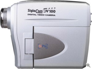 SiPix's StyleCam DV100. Courtesy of Foxlink Peripherals Inc., with modifications by Michael R. Tomkins. Click for a bigger picture!