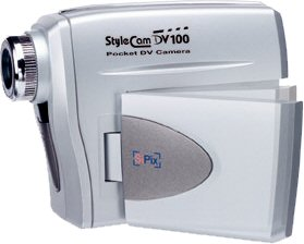 SiPix's StyleCam DV100. Courtesy of Foxlink Peripherals Inc., with modifications by Michael R. Tomkins.