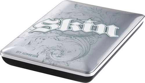 Iomega's 'Knock Out' Skin hard drive. Photo provided by EMC Corp. Click for a bigger picture!