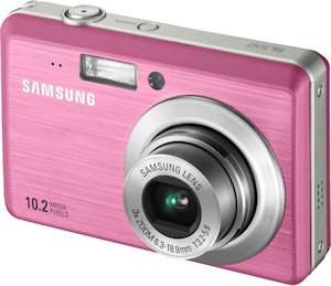 Samsung SL102 digital camera. Photo provided by Samsung Electronics America Inc. Click for a bigger picture!