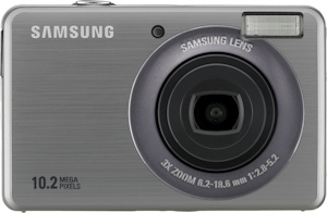 Samsung's SL202 digital camera. Photo provided by Samsung Electronics America Inc. Click for a bigger picture!
