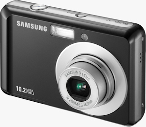Samsung's SL30 digital camera. Photo provided by Samsung Electronics America Inc. Click for a bigger picture!
