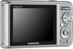 Samsung's SL502 digital camera. Photo provdied by Samsung Electronics Co. Ltd. Click for a bigger picture!