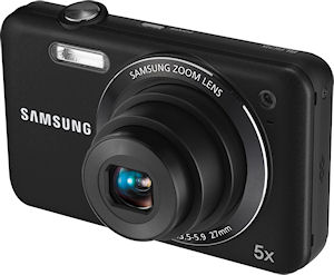 Samsung's SL605 digital camera. Photo provided by Samsung Electronics America Inc. Click for a bigger picture!