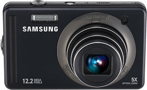 Samsung's SL720 digital camera. Photo provdied by Samsung Electronics Co. Ltd. Click for a bigger picture!