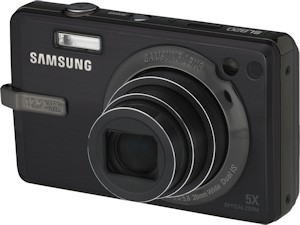 Samsung's SL820 digital camera. Photo provided by Samsung Electronics America Inc. Click for a bigger picture!
