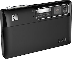 Kodak's SLICE digital camera. Photo provided by Eastman Kodak Co. Click for a bigger picture!