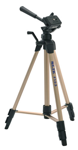 The Slik F630 tripod. Photo provided by THK Photo Products Inc. Click for a bigger picture!