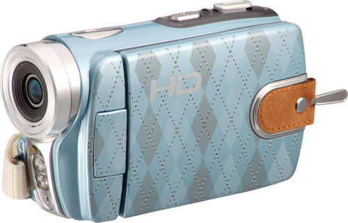 The DXG-533V HD Soho edition in blue. Photo provided by DXG USA. Click for a bigger picture!