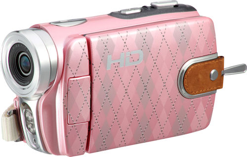 The DXG-533V HD Soho edition in pink. Photo provided by DXG USA. Click for a bigger picture!