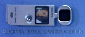 Sony's Digital Still Camera stick. Courtesy of Juergen Specht.