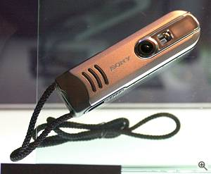 Sony's unnamed neck-strap concept camera. Courtesy of Juergen Specht - click for a bigger picture!