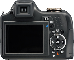 Olympus' SP-590 UltraZoom digital camera. Photo provided by Olympus Imaging America Inc. Click for a bigger picture!