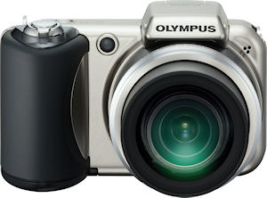 Olympus' SP-600UZ digital camera. Photo provided by Olympus Imaging America Inc. Click for a bigger picture!