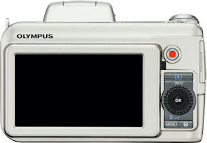 Olympus' SP-800UZ digital camera. Photo provided by Olympus Imaging America Inc. Click for a bigger picture!