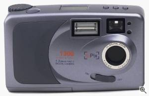 SiPix's SP-1300 digital camera. Courtesy of SiPix with editing by Michael R. Tomkins. Click  for a bigger picture!