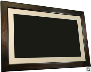 SP3200 picture frame. Courtesy of Smartparts, with modifications by Zig Weidelich. Click here for a bigger picture!