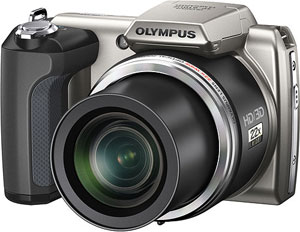 Olympus' SP-610UZ digital camera. Photo provided by Olympus Imaging America Inc. Click for a bigger picture!