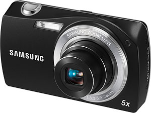 Samsung's ST6500 digital camera. Photo provided by Samsung Electronics Co. Ltd. Click for a bigger picture!