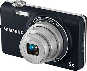 Samsung's ST65 digital camera. Photo provided by Samsung Electronics Co. Ltd. Click for a bigger picture!