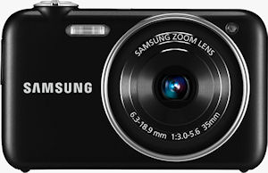 Samsung's ST80 digital camera. Photo provided by Samsung Electronics Co. Ltd. Click for a bigger picture!