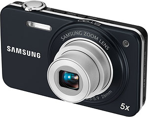 Samsung's ST90 digital camera. Photo provided by Samsung Electronics Co. Ltd. Click for a bigger picture!