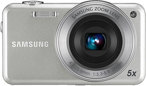 Samsung's ST95 digital camera. Photo provided by Samsung Electronics Co. Ltd. Click for a bigger picture!