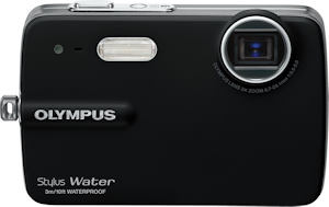 Olympus' Stylus-550WP digital camera. Photo provided by Olympus Imaging America Inc. Click for a bigger picture!