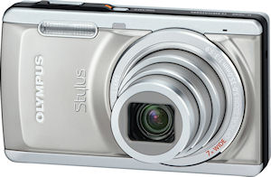 Olympus' Stylus-5010 digital camera. Photo provided by Olympus Imaging America Inc. Click for a bigger picture!