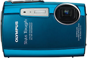 Olympus' Stylus Tough-3000 digital camera. Photo provided by Olympus Imaging America Inc. Click for a bigger picture!