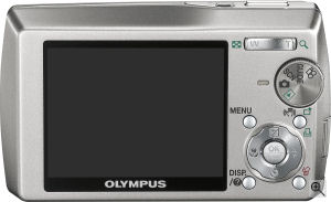 Olympus' Stylus 1000 digital camera. Courtesy of Olympus, with modifications by Michael R. Tomkins. Click for a bigger picture!