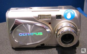 Olympus' Camedia Stylus 300 digital. Copyright (c) 2002, The Imaging Resource. All rights reserved.