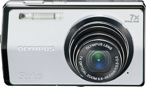 Olympus' Stylus-7000 digital camera. Photo provided by Olympus Imaging America Inc. Click for a bigger picture!