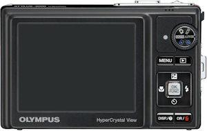 Olympus' Stylus-9000 digital camera. Photo provided by Olympus Imaging America Inc. Click for a bigger picture!