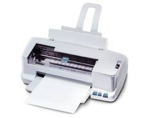 Epson's Stylus Color 83 (8-Cubed) photo printer. Courtesy of Epson.