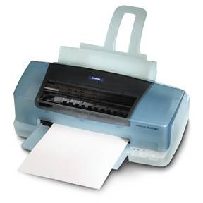 Epson's Stylus Color 880i photo printer. Courtesy of Epson.