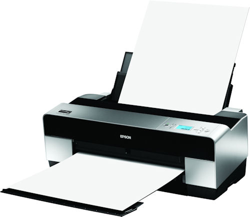 Epson's Stylus Pro 3880 printer. Photo provided by Epson America Inc. Click for a bigger picture!