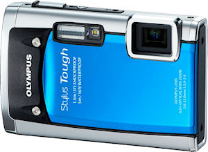 Olympus' Stylus Tough-6020 digital camera. Photo provided by Olympus Imaging America Inc. Click for a bigger picture!